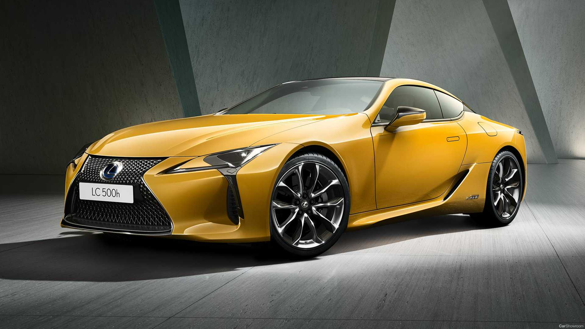 Lexus Previews LC Yellow Edition For Paris Debut